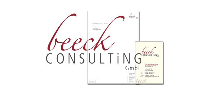 beeck consulting - corporate design - katrin koops